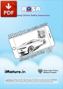E-book in English & Hindi on Online Safety Mantra for students