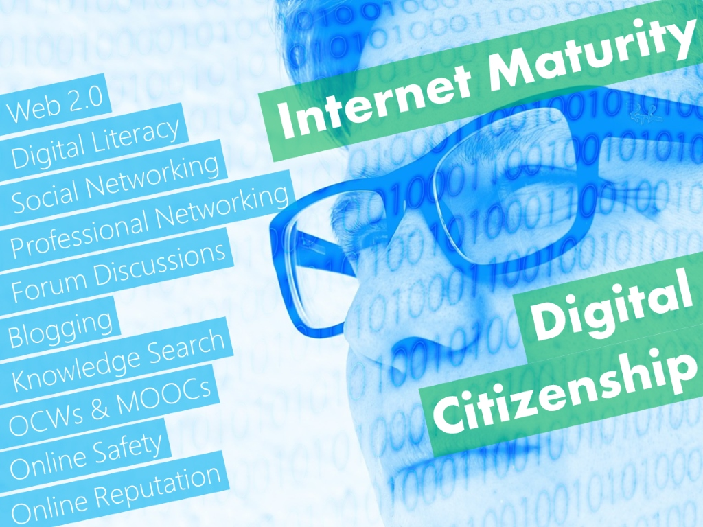 A comprehensive vision of Internet Maturity and Digital Citizenship