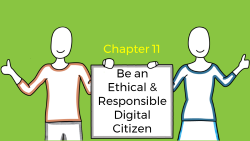 Title slide of Chapter-11 of Digital Citizenship foundation course