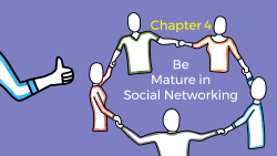Title slide of Chapter-4 of Digital Citizenship foundation course
